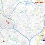 routekaart Tour de Alkmaar